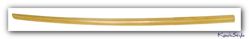 Lightweight Compressed Bamboo Bokuto (90cm Daito for Youth) - Click Image to Close