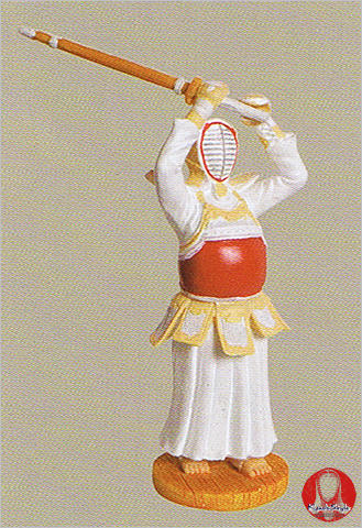Kendo Figure Jodan Kenshi - Click Image to Close